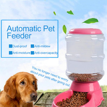 3.5L Automatic Pet Feeder For Cats & Dogs pet bowls Feeding bowl container to automatically add food for pets large capacity(China)