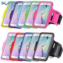 Waterproof Running Sport Arm Band Phone Case For iPhone 7 Plus 6 6S Plus for Samsung S5 S6 S7 Edge J7 A7 ON7 for LG Huawei G7