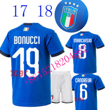 2017 2018 new Italy jersey 17 18 Home Away football camisetas Thai AAA shirt survetement football Soccer jersey(China)