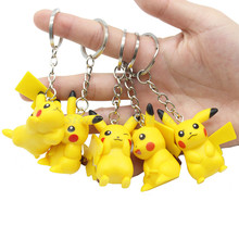 POGO Pikachu Keychain Action Figure Single Sale Building Blocks Hobbies Toys Children Lepin Gifts Kids KZ001-006 - FunGao Store store