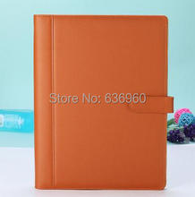 New HOT classic A4 manager folder file folder notepad book free shipping(China)
