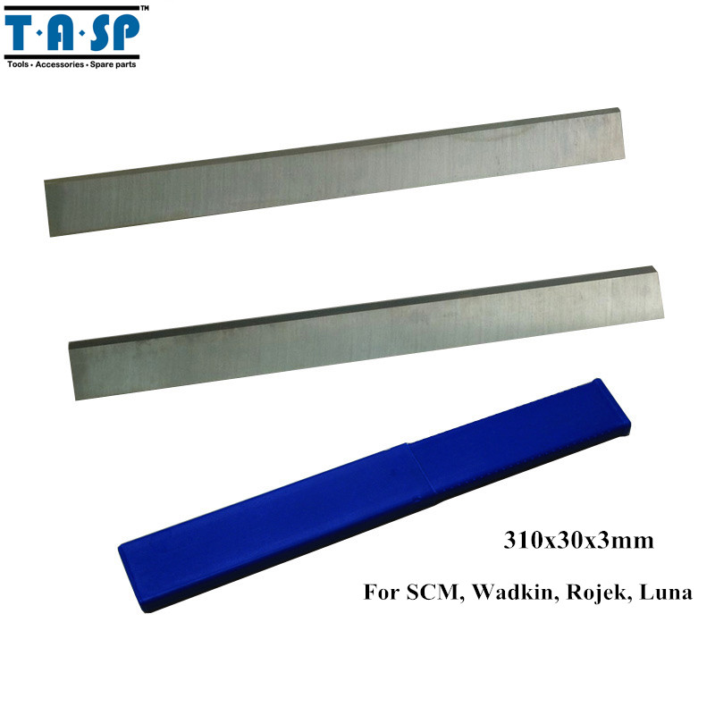 TASP HSS Wood Planer Knife Thickness Planer Blade 310x30x3mm Woodworking Power Tools Accessories For SCM Wadkin Rojek Luna<br>