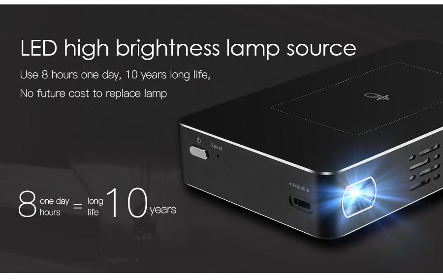 AODIN M9 mini Projector Smart Multi-touch screen1G+32G LED Portable Projectors DLP 300 lumen 5000mAh Battery HD Pocket Projector-18