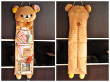 Bear Rilakkuma bag Plush toy Kawaii creative home family decor gift for boys girls birthday