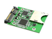 SD SDHC Secure Digital MMC to SATA Converter Adapter for Winodws Linux Mac OS(China)