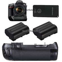 Free Ship by DHL Vertical Shutter Battery Hand Handle Grip Pack For Nikon D600 D610 Digital Camera as MB-D14+IR Remote+2 EN-EL15