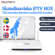 Leadcool IP ТВ Nordic Android Box Rk3229 Quad-Core Leadcool ТВ коробка ВМС ТВ IP ТВ подписки IP ТВ швеция Великобритании Италия Германия Испания(China)