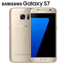 Original Unlocked Samsung Galaxy S7 LTE Android Mobile phone G930V G930F 5.1'' 12MP 4G RAM 32G ROM NFC Smartphone(China)