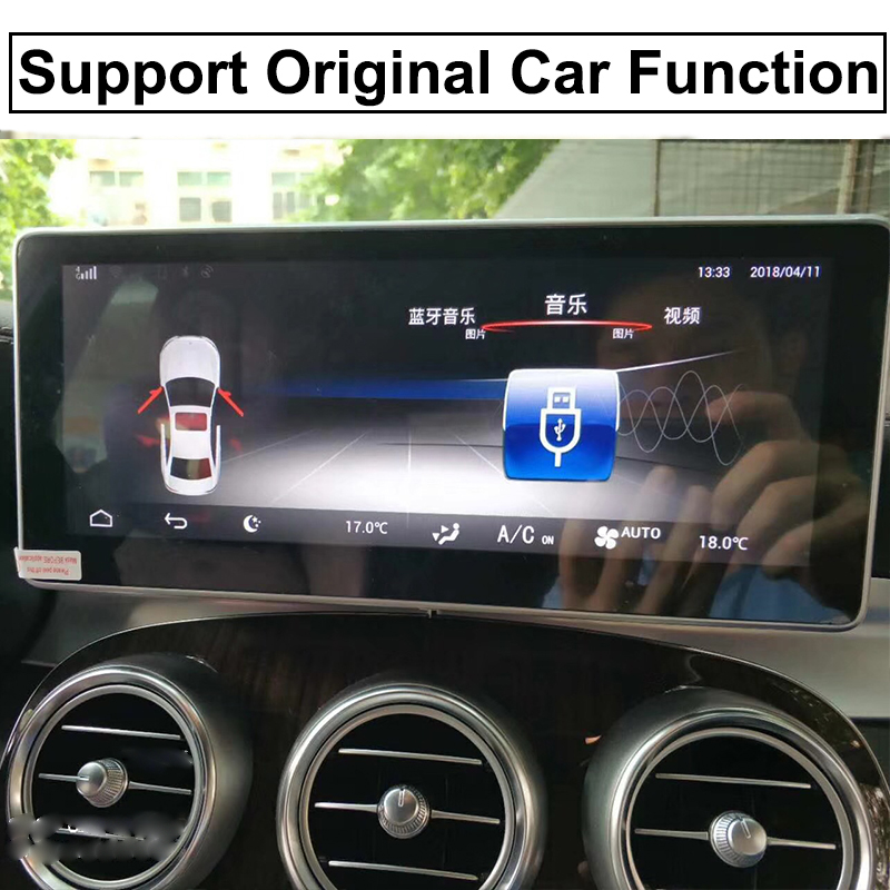 Liislee Car Multimedia Player NAVI For Mercedes-Benz MB GLC Class X253 C253 2015~ 2018 Car Radio Stereo GPS Navigation (8)