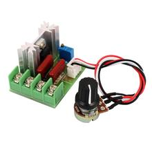 2000W 220V SCR Voltage Regulator AC Motor Speed Controller External Potentiometer
