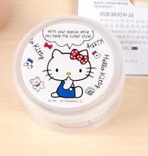 (5 Pcs/Lot) Cartoon Hello Kitty My Melody Children Girl's Gift Jewel Storage Box Travel Medicine Pill Organizer(China)