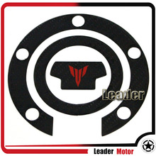 For YAMAHA MT-07 MT-09 MT07 MT09 Motorcycle Accessories 3D Carbon Fiber Tank Gas Cap Pad Filler Cover Sticker Decals