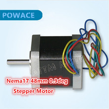 Nema17 48mm Stepper Motor 0.9 deg 1.8A  78Oz-in CNC Stepper Motor stepping motor for 3D Print CNC Routers