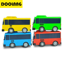 One Piece Oyuncak Tayo Bus Little Bus Scale Model Miniature Bus Mini Plastic Babies Toy Car Children's Toys / Birthday Gifts(China)