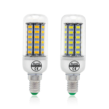 SMD 5730 LED Corn Bulb E27 E14 B22 G9 GU10 Lamp Chandelier Spotlight 24 36 48 56 69 72 LEDs Home Decoration Lightme AC 220V