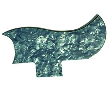 Pleroo на заказ гитара pickgaurd-для 61 SG Гитара Pickguard Scratch Plate, 4 слоя Gery Pearl(China)