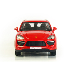 1:36 Alloy Pull Back Cayenne SUV Sports Car Model Of Children's Toy Cars Original Authorized Authentic Kids Toy Gift Collection(China)