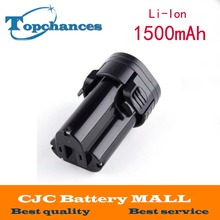 Battery for Makita 10.8V 10.8 Volt BL1013  BL1014 TD090D TD090DW LCT203W 194550-6 194551-4Li-ion Electric Power Tool