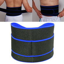 Gumay Elastic Waterproof Ajustable Waist Support Belt Brace Fitness Gym Lumbar Back Waist Supporter Protection For Sports Safety(China)