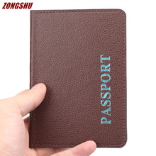 Hot Sale Passport Card Holder Couple Models Travel Passport Cover Unisex Card Case Man Card Holder Women Ticket Bag Fashion Gift