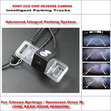 Buy HD CCD SONY Rear Camera Citroen Berlingo / Doninvest Orion M Intelligent Parking Tracks Reverse / NTSC RCA AUX 580 TV Lines for $42.16 in AliExpress store