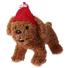 Christmas Dog Cap X'mas Pet hat Dog Cats Red Wool Knitting Hat Navidad Party Headwear Headdress Costume Pet Supplies