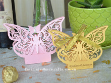 Holiday favors laser cut butterfly favors baby candy box wedding party decoracion fiestas infantil