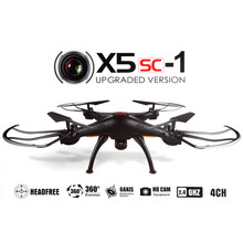 Original Syma X5SC - 1 & X5HW Black Falcon HD Camera Drone 4 Channel 2.4G RC Quadcopter 6 Axis 3D Flip Fly 360 Degree Eversion