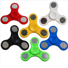 Tri-Spinner Fidget Toy Plastic Hand Spinner Desk Anti Stress Spinning Top For Autism and ADHD Hand Spinne