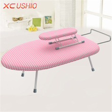 Multifunctional Desktop Ironing Board Household Folding Clothes Ironing Board Holder Laptop Desk Notebook Table(China)