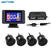 LMYSTAR Parkctronic Car Parking Sensor Kit Reverse Backup Auto Parking Radar Monitor Detector System With LCD Backlight Display(China)