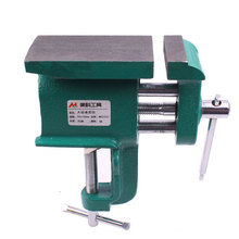 High Quality Chinese Style Straight handle Multifunctional Table Vise Miniature Hand Carved Mini Vice Woodworking Clamp(China)