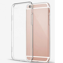 Super Flexible Clear TPU Case For iPhone 5S SE 6 6s 7 plus Slim Crystal Back Protect Rubber Phone Cover Fundas Silicone Gel Case