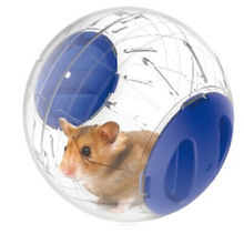 PETCIRCLE Plastic Crystal Hamster Ball For Small Animals Pet Toys Mouse Run Exercise Little Pet Supplies 3 Colors Available