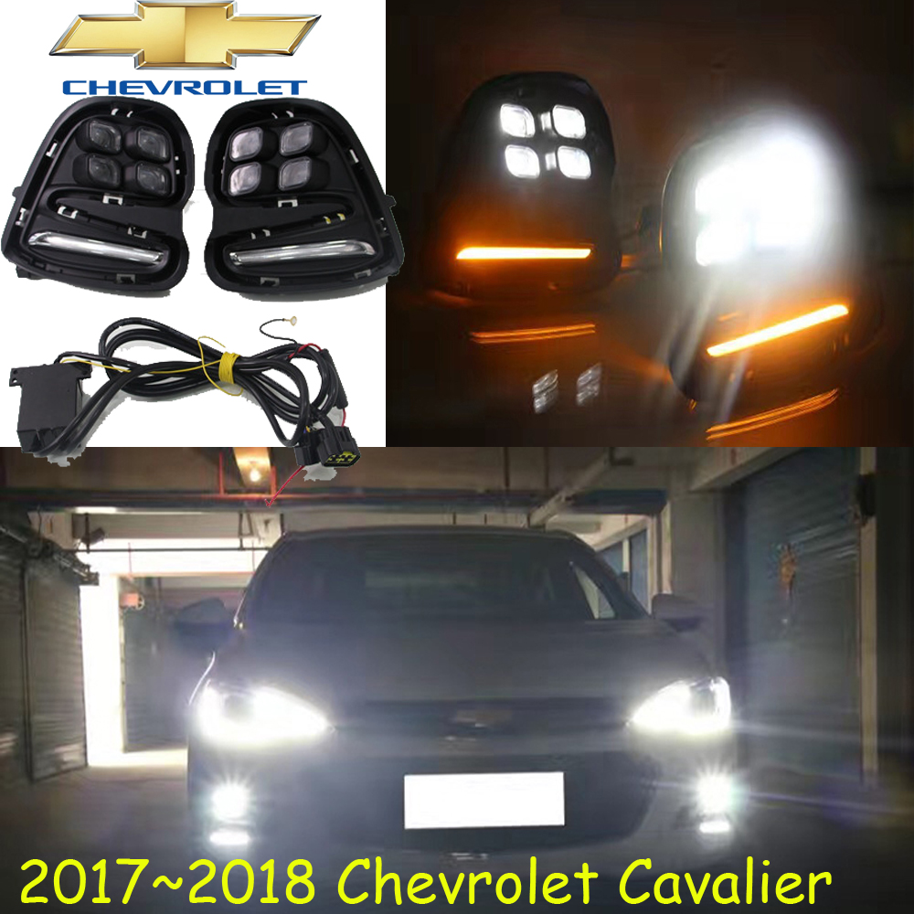 Cavalier daytime light,2017 2018 year!Free ship!LED,Cavalier fog light,2ps/set;Cruz;Cavalier daytime light Cavalier<br>