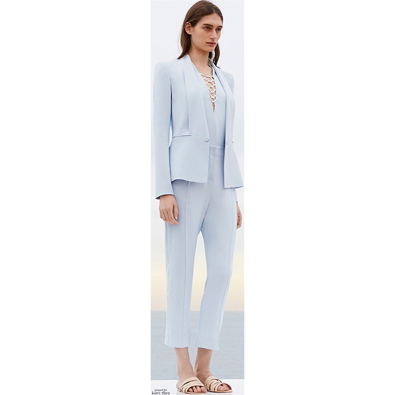 Compare Prices on Women Blue Tuxedo Jacket- Online Shopping/Buy ...