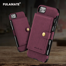 Buy FULAIKATE Brushed Card Pocket Universal Case iPhone 6 6s Soft Back Cover iPhone 7 8 Phone Protective Cases for $5.78 in AliExpress store