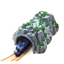 Simulated cave compatible track fit Thomas and Brio Wooden Train Boy/ Kids Toy with a wooden thomas train(China)
