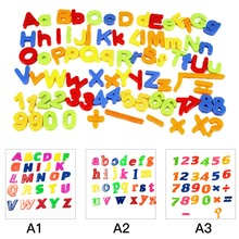 26 pcs Refrigerator fridge magnet  Puzzle English Educational Toy Alphabet A - Z Letters Educational Foam Mat  WB277 P30