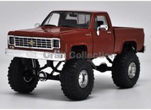 * 1:24 Chevy Chevrolet Silverado (Red) K10 4X4 Pickup So Real Concepts Diecast Model Truck