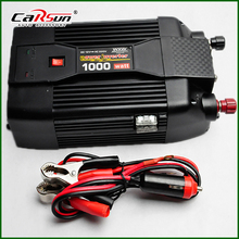 NEW 12V DC to AC 220V AC 1000W Car Power Inverter 12V 220V Grid Tie Inverter With USB For Solar/Wind/Gas Power Generation