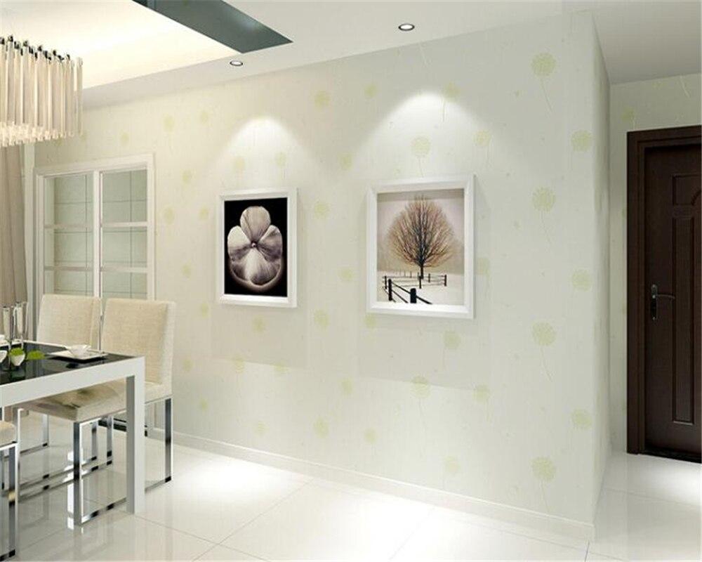 beibehang papel de parede Korean romantic dandelion wallpaper Sweet children room wall paper wallpaper  papier peint tapety <br>
