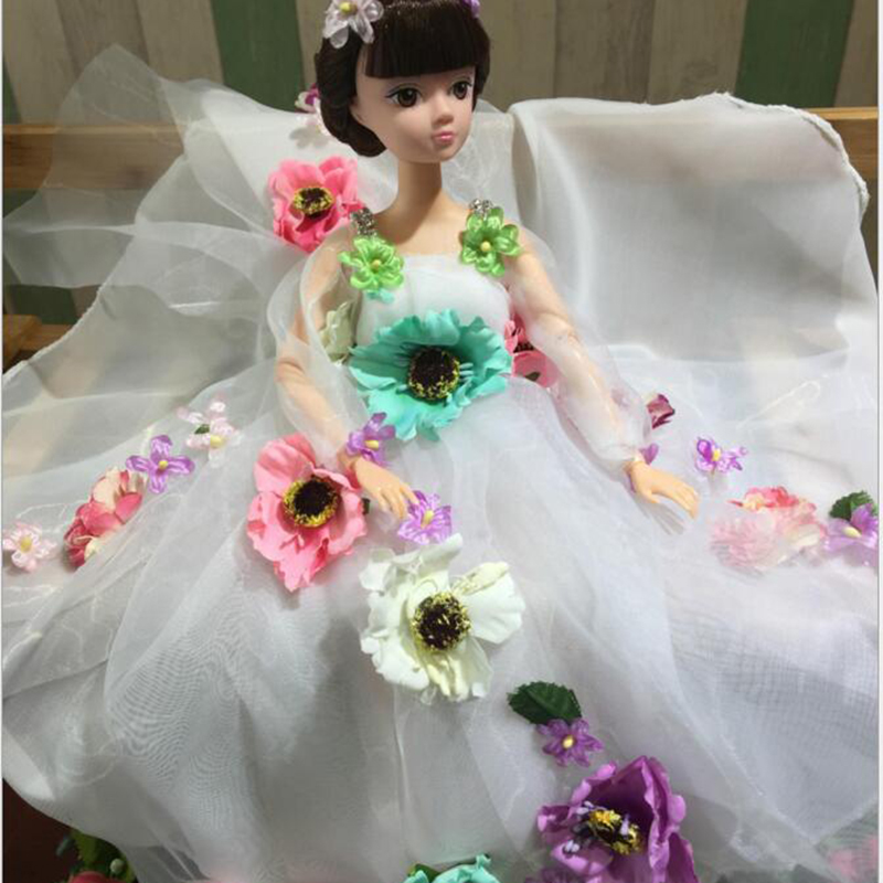Moveable Joint Body Princess Babe Doll 38cm Star Same Paragraph Wedding Design Dress Suite Kids Toy Brinquedo Girl Gift<br><br>Aliexpress