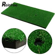 "Relefree 60x30cm/12""x24""Backyard Golf Mat Residential Training Hitting Pad Practice Rubber Tee Holder Drop Shipping(China)"