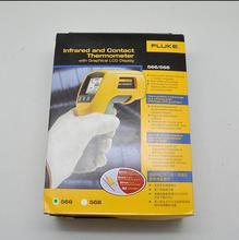 Fast arrival Fluke 566 Infrared IR Thermometer with Measuring Range -40-650C F566