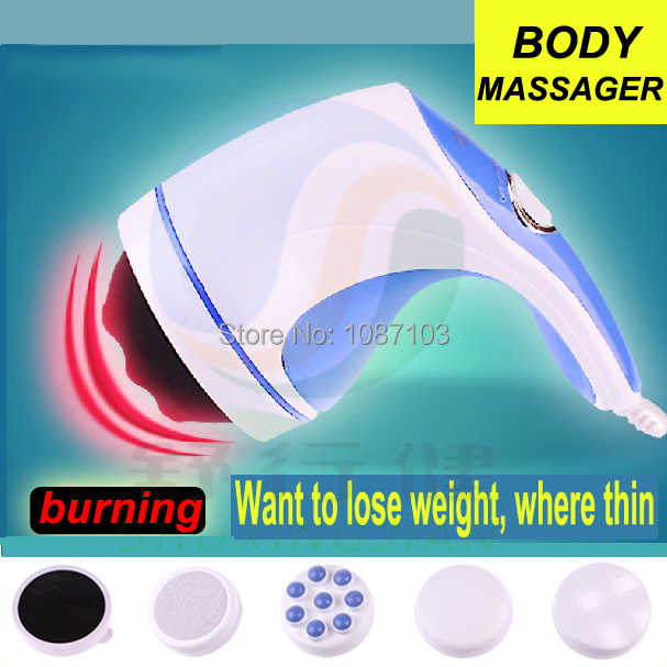 998-1A Pampas electronic body massage instrument reduce fat emperorship shiatsu slimming stovepipe hand-held crazy fit massages<br><br>Aliexpress