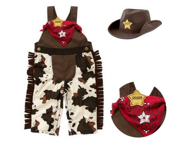 2017 Baby Boy Rompers Cowboy Baby Costume Infant Toddler Boy Clothing Set 3pcs Hat+Scarf+ Romper Terno Infantil Menino<br><br>Aliexpress
