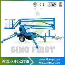 Best Selling Products Telescopic Boom Lift Truck Crane