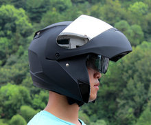 New Promotion Flip Up Motorcycle Cool Helmet Safe Double Lens Racing Cascos Para Moto Anti-fog Full Half Face On Sale Dot