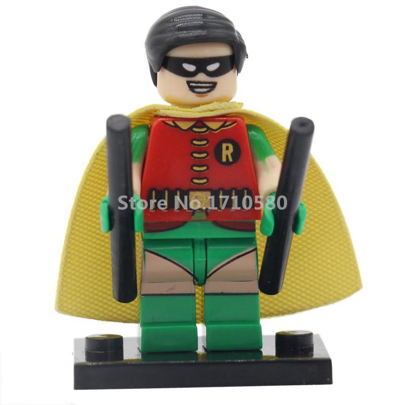 DC Super Heroes Robin Mini PG019 Single Sale Building Blocks Batman Superhero Set Models Bricks Figures Toys<br><br>Aliexpress